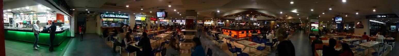 Photo: Food court panorama