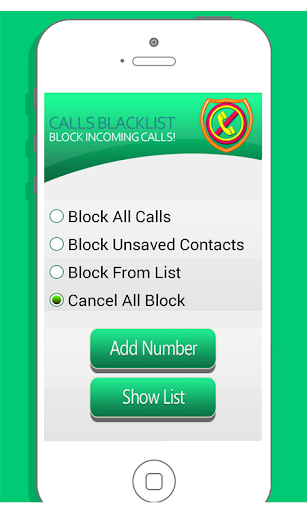 Call Blocker : Call Black List