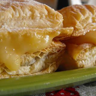 Lemon Curd Puffs.