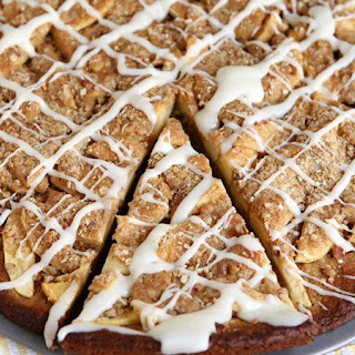 Apple Crisp Cookie Pizza