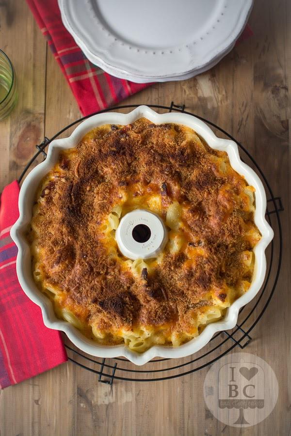Mac&Cheese Bundt en molde Bundt Cake