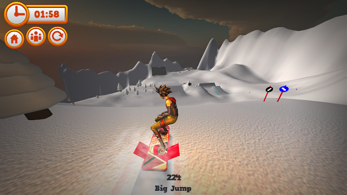 Mad Snowboarding - screenshot