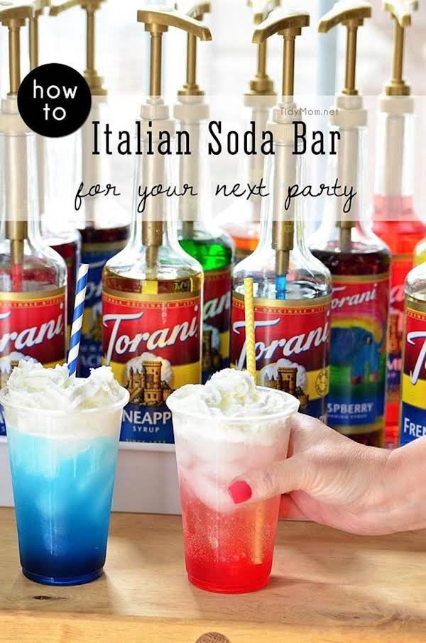 Italian Soda Bar Recipe