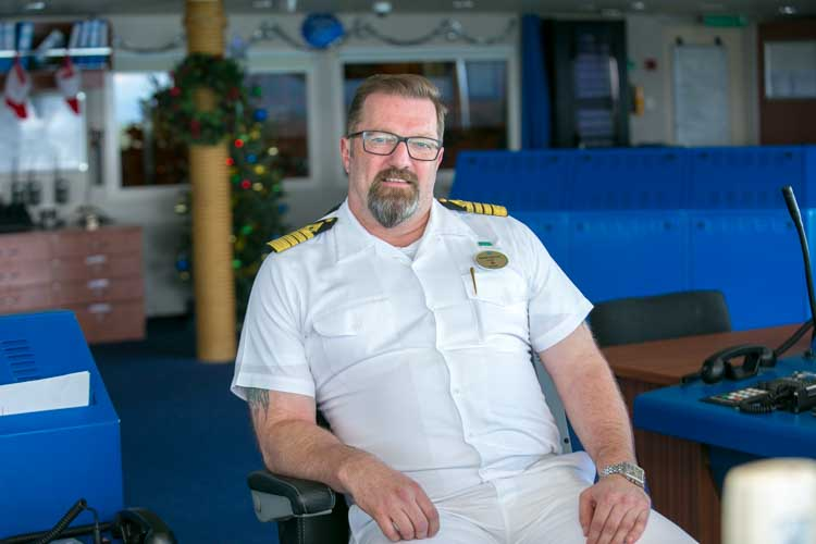 "Ingar Kjellin, captain of Norwegian Jade, says Norwegians are pulled to the sea. ""It's not a job. It's a way of life."""