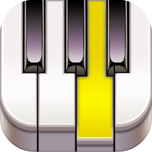 虚拟钢琴键盘下载 免费 音樂 App LOGO-硬是要APP