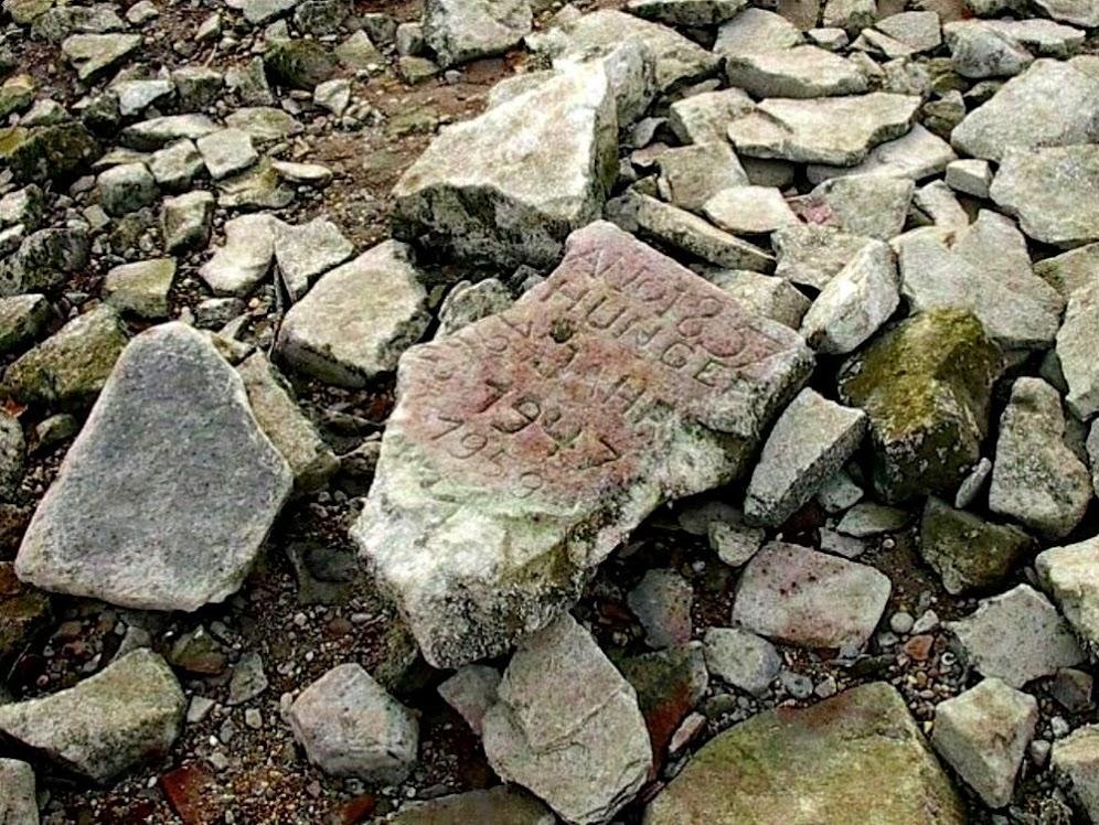 Pedras da fome, as advertências do passado