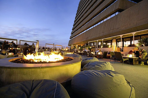 The San Deck at the Sandton Sun. Picture: SUPPLIED