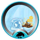 Fire And Ice Theme Launcher