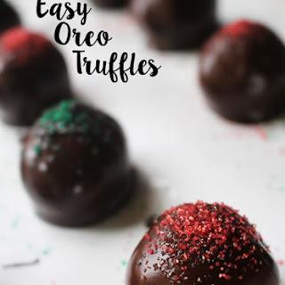 Easy Oreo Truffles & Peppermint Oreo Truffles.
