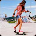 True Girl Skating Run icon