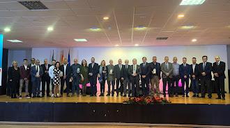Foto de familia de los IV Premios Comarca de Níjar.