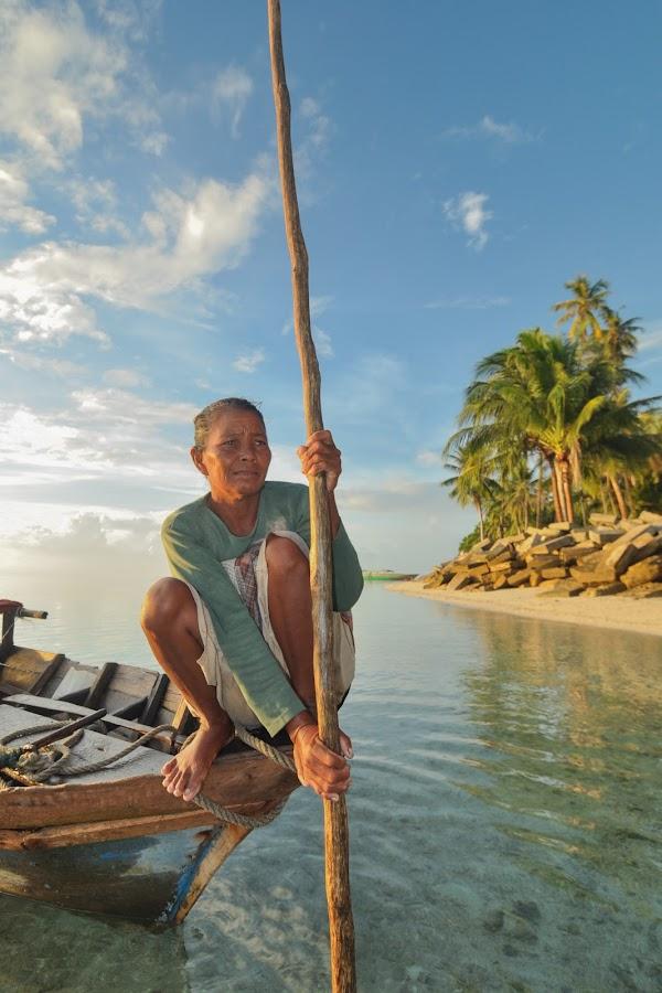 Sea Gypsy of Mabul Island by Ambo Sakka Mappeasse - Transportation Other