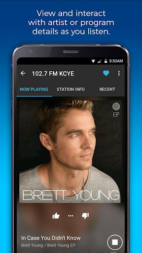 NextRadio Free Live FM Radio 5.0.2351-release screenshots 3