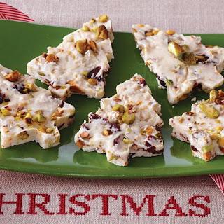 Cherry Pistachio Bark Recipe