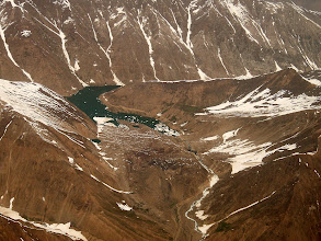 Photo: Lake Lalusar, Upper Kaghan Valley, view from S, track to Babusar Pass (construction work ongoing)