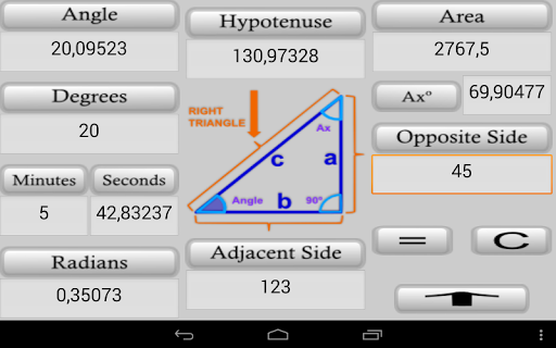 ipar trig calculator  screenshots 3