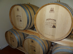 Photo: Adnams' distilling program is coming along nicely.