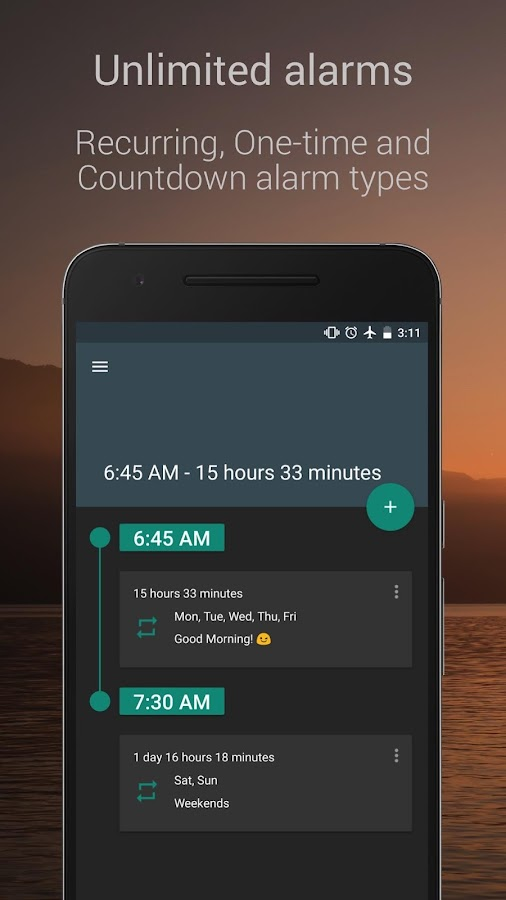 Screenshots of Alarm Clock for Heavy Sleepers for iPhone