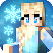 Ice Princess Craft:❄️ Icy Crafting & Building