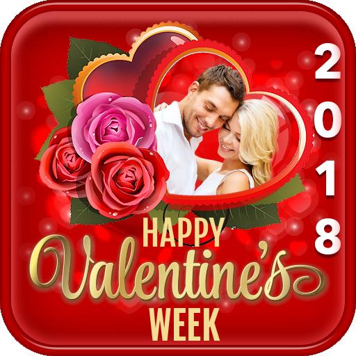 Valentine's Week Celebration Photo Frames