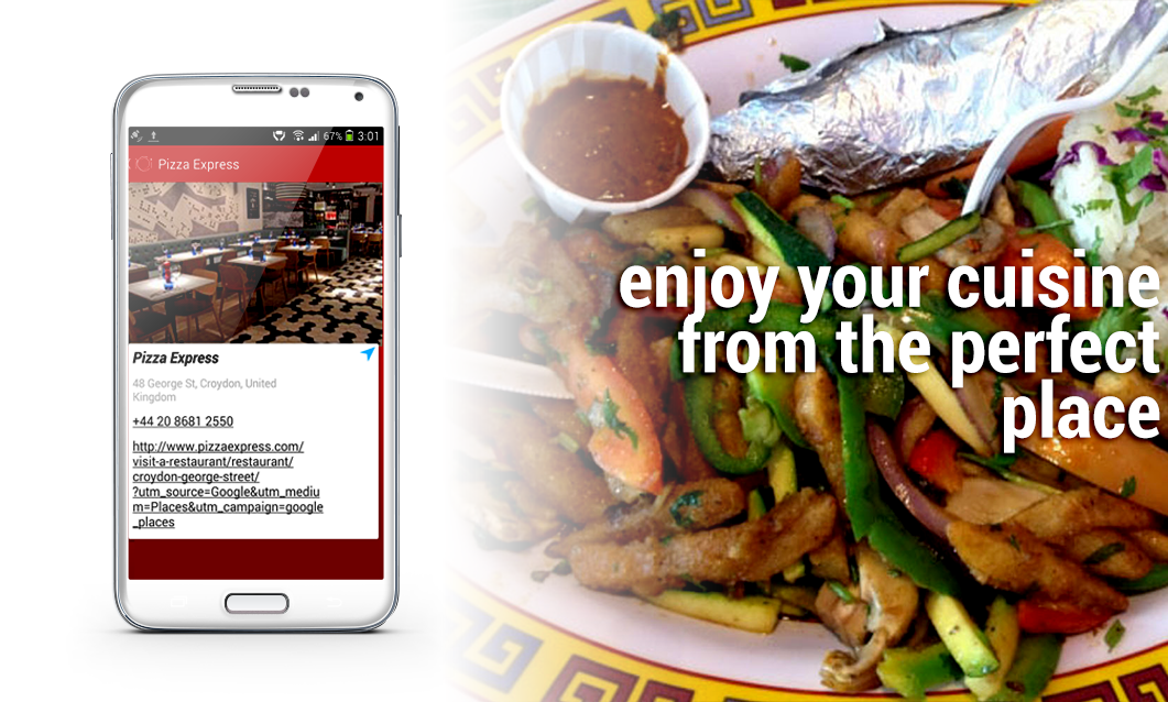 Find Restaurants Near Me - Free- screenshot