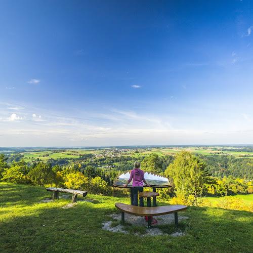Blick vom Naturpark AugenBlick Aussichtspunkt am Wächtersberg