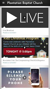 Plantation Baptist Church- screenshot thumbnail