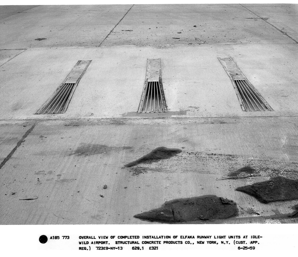 Overall View Of Completed Installation Of Elfaka Runway Light Units