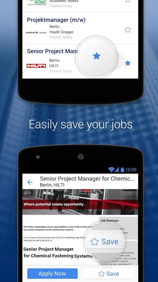 StepStone Job App - screenshot