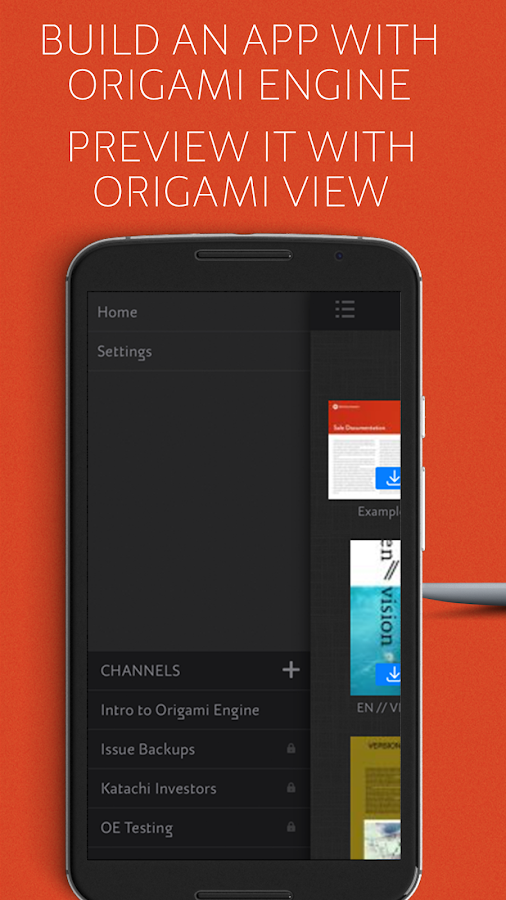 Origami View- screenshot