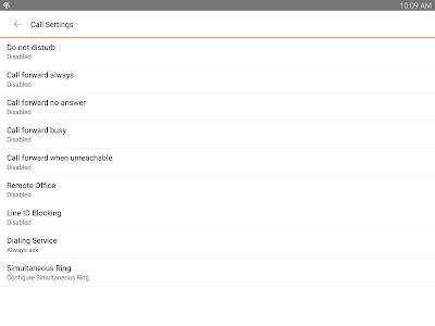 TDS managedIP Hosted Tablet UC screenshot 14