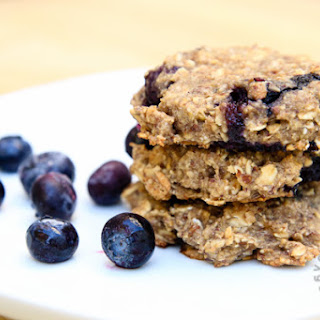 Blueberry Banana Breakfast Cookies (vegan, gluten-free)