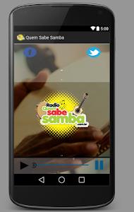 Radio Quem Sabe Samba screenshot 0