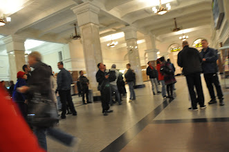 Photo: Le lonely disait grand bien de la gare de Novosibirsk... bof, c'est juste une gare