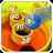 AE Gun Ball: arcade ball games logo