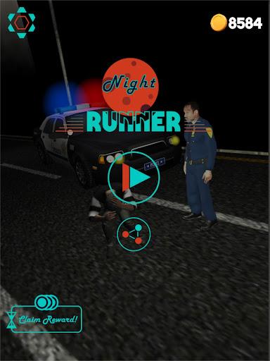 Code Triche Night Runner - Thriller Endless Runner  APK MOD (Astuce) screenshots 6