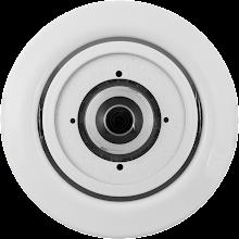 Photo: Mobotix S15 HaloMount white.
