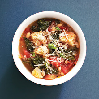 Hearty Tuscan soup.
