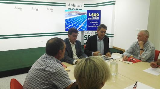 Unas 1.600 familias almerienses, atrapadas por las primas de las renovables