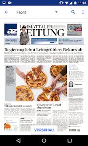 az Limmattaler Zeitung E-Paper screenshot 1