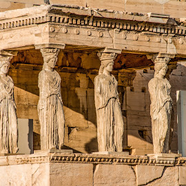 by William Stansbury - Artistic Objects Other Objects ( greece, statue, acropolis, temple, parthenon,  )
