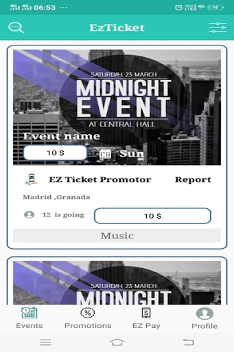 Screenshot for EZ Ticket in United States Play Store