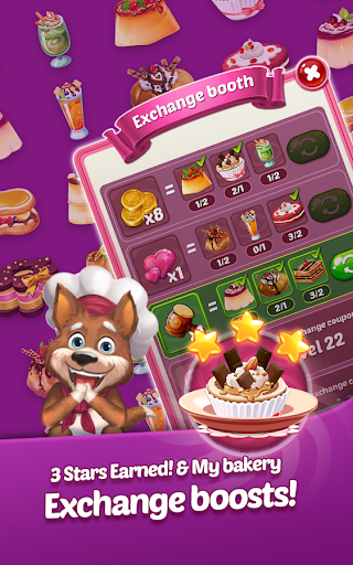 Tasty Magic: Match 3 Sweet Puzzle for Dessert 1.0.30 5