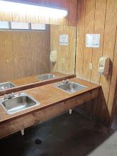 Photo: Yoki Bathhouse Each bathhouse contains 4 sinks