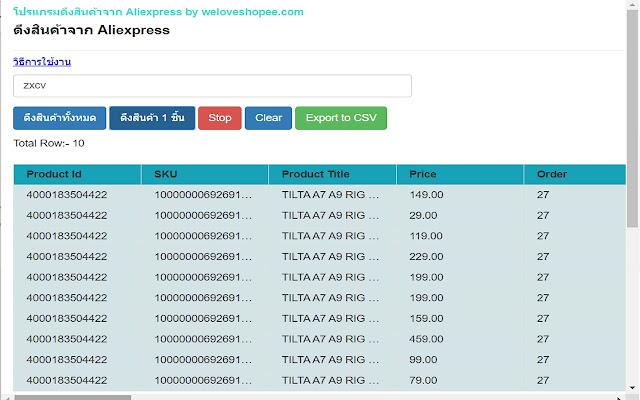 Aliexpress Tools - Product, Sales