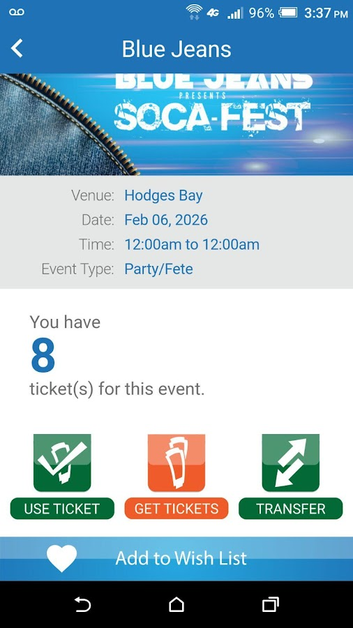 TickeTing Events- screenshot