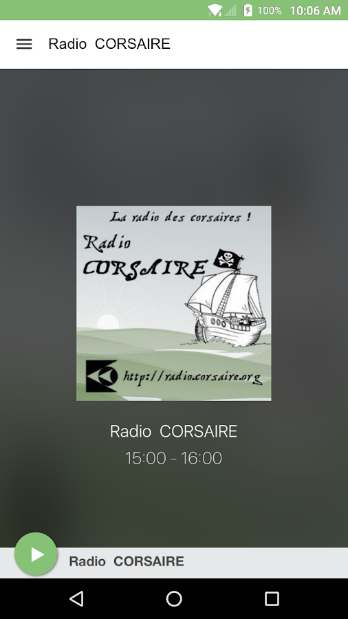 Radio  CORSAIRE- screenshot