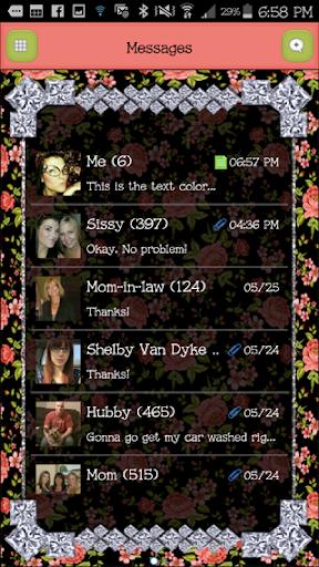 GO SMS - DivineDiamonds7