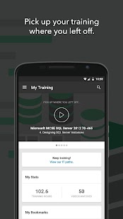 CBT Nuggets - IT Training App- screenshot thumbnail