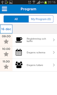 Visma Events Norway - náhled